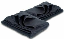 Zone Tech 2x Car Heated Polar Fleece Electric 12V Portable Throw Travel Blanket