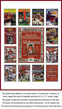 Alabama Sports Illustrated Collection Poster Roll Tide!