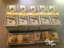 PROP MONEY New Style $100s $500,000 wrapped Filler Bundles For Movie, TV, Videos