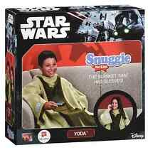 STAR WARS SNUGGIE FOR KIDS YODA BRAND NEW IN BOX VERY COMFORTABLE LICENSED