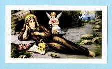 SANTINO SANTA ROSALIA  IMAGE PIEUSE - HOLY CARD SANTINI