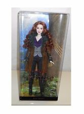 NIB 2010 TWILIGHT SAGA Eclipse BARBIE Doll Pink label collector stand VICTORIA