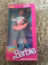 VINTAGE 1988 COOL TIMES TERESA BARBIE DOLL NEW NRFB