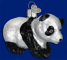 """Panda Cub"" (12357) Old World Christmas Glass Ornament"