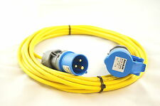 Caravan/Camping Power Hook Up Cable in 2.5mm² cable 5MTR in Yellow
