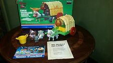 Wicket The Ewok Woodland Wagon 99% Complete With Box Kenner Preschool Star Wars