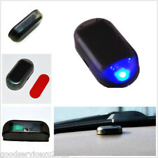 Solar Energy Automobile Roof Security Anti-theft Warning Blue Blinking LED Light
