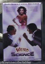 "Weird Science Movie Poster 2"" X 3"" Fridge / Locker Magnet."