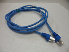 AMP Netconnect 219242-7 CAT5e 7FT Patch Cable Blue Used 32 x Available  Numbered