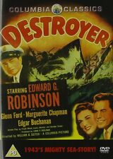 DESTROYER (1943 Edward G Robinson) - DVD - REGION 2 UK