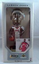 Lebron James rookie bobble  2003 upper deck premium Play makers with rookie card