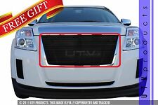 GTG 2010 - 2015 GMC Terrain 1PC Gloss Black Replacement Billet Grille Grill