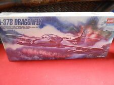 NEW-Never Opened- Model Kit- ACADEMY A-37B DRAGON FLY #1663 1/72 scale