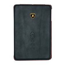 Official Lamborghini Leather Slim Smart Cover/Case Elemento D1 iPad Mini 2 3