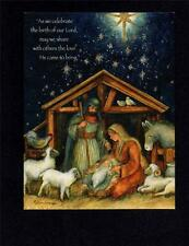 """HOLY FAMILY"" by SUSAN WINGET RELIGIOUS INSPIRATIONAL CHRISTMAS CARDS LANG CO 4"
