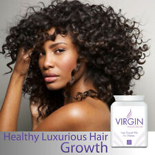 VIRGIN FOR WOMEN HAIR-LOSS PILL TABLETS HEALTHY THICK GLOSSY FULLER HEAD HAIR
