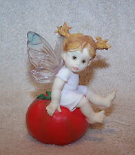 ENESCO LITTLE KITCHEN FARIES.  HOT TOMATO FAIRIE.   2001.