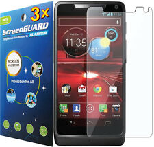 3x Clear LCD Screen Protector Guard Motorola Droid RAZR HD / RAZR MAXX HD XT926