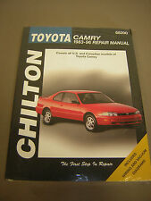 Chilton Repair Manual Repair Guide Toyota Camry 1983-1996 DIY Book