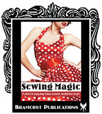 1950s Sewing Magic 225 Patterns Making Book (Vintage Fashion Accessories Aprons)