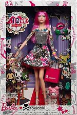 BARBIE COLLECTOR 2015 10TH ANNIVERSARY TOKIDOKI BARBIE CMV57 *NEW*