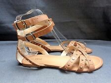 NEXT TAN GLADIATOR FLAT SANDALS SIZE 4