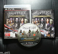 Injustice Gods Among Us Ultimate Edition PlayStation 3 PS3 - Very Good condition