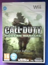 CALL OF DUTY MODERN WARFARE REFLEX EDITION Wii SHOOTER GAME new & sealed UK !!