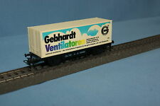 "Marklin 8 4482 DB Container car ""Gebhardt  Ventilatoren"""