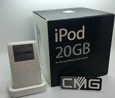 Apple iPod classic 3rd Generation 20GB (new Battery & by the dealer) Rare #739