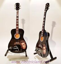Mini Guitar ELVIS PRESLEY acoustic tribute memorabilia chitarra miniature king