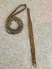 XSmall Dog Cheetah Print Collar and Leash with Faux Citrine Stone Detail