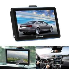 "Touchscreen 7"" HD Car GPS Navigator FM MP3 Video Player 128MB 8GB Free Map K5M8"