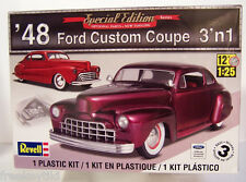 NEW Revell 1/25 1948 Ford Custom Coupe 3 N 1 Plastic Model Kit  Special Edition!