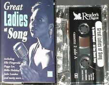 GREAT LADIES OF SONG  CASSETTE 2 RDC63632   NINA SIMONE ASTRUD GILBERTO