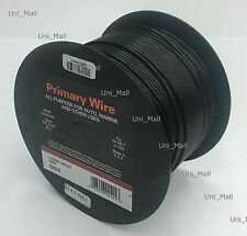New DEKA 14AWG 50 FT Black Primary Wire Rated 80 degree C, Made in USA