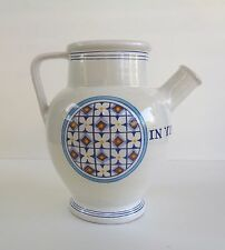 CLASSIC ITALIAN ART POTTERY VINO JUG, MADE FOR WILLIAM SONOMA GRAND CUISINE