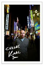 KARL PILKINGTON SIGNED PHOTO PRINT AUTOGRAPH THE MOANING OF LIFE 2