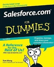 Salesforce.com For Dummies (For Dummies (Lifestyles Paperback)) Wong, Tom, Kao,