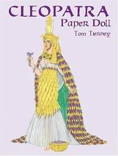 Cleopatra Paper Doll (Paper Dolls)-ExLibrary