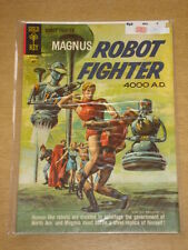MAGNUS ROBOT FIGHTER #2 FN (6.0) GOLD KEY COMICS MAY 1963 (A)