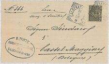 ITALIA REGNO: BUSTA da Calderara di Reno  - 1905