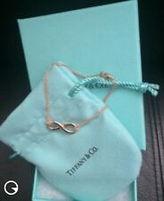 Tiffany & Co Infinity Rubedo  Bracelet Medium Size 6.5 M NEW Rose Gold Color