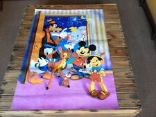 Used - Poster CHARACTERS DISNEY PERSONAJES Cartel - Color - Usado