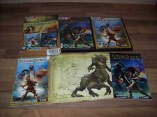 Titan Quest Gold Deluxe Edition RIESIG PC Sonderedition SOUNDTRACK ARTBOOK usw.