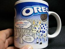 Oreo Cookie Mug Be glad your not a Cow moo More Milk