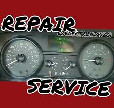 LINCOLN TOWN CAR INSTRUMENT CLUSTER REPAIR SERVICE SPEEDOMETER 1998 TO 2004