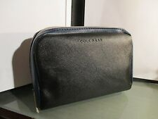 COLE HAAN AMERICAN AIRLINES GROUND Zero amenity kit bag cosmetic travel navy