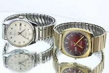Two Vintage Caravelle Swiss Automatic Watches