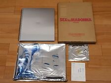 "1st edition Madonna photo book ""sex"" Japan with CD, foil, comic, box case"